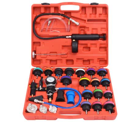 27 pcs Radiator Pressure Tester with Vacuum Purge and Refill Kit[2/5]