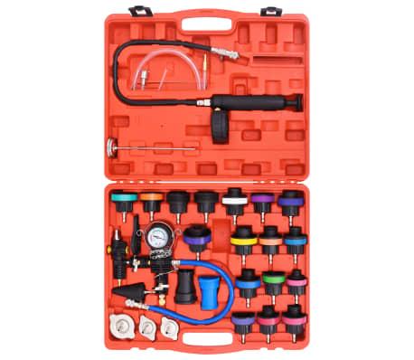 27 pcs Radiator Pressure Tester with Vacuum Purge and Refill Kit[3/5]