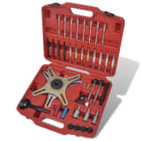 38 Piece Self-Adjusting Clutch Alignment Setting Tool Kit