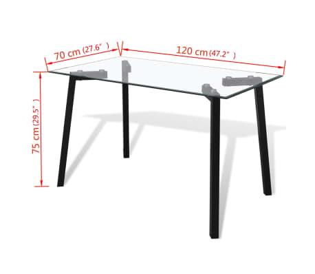 vidaXL Gambe per Tavolo da Pranzo con Struttura a V 100x40x72 cm