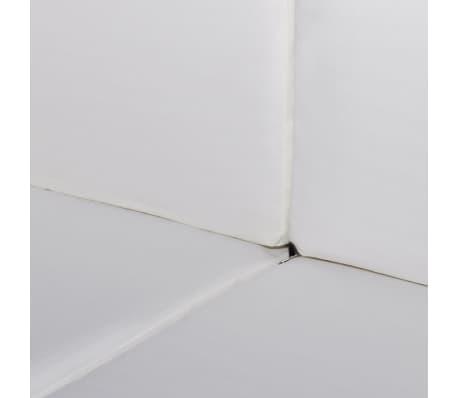 vidaXL 6-delige Loungeset met kussens poly rattan bruin[4/5]