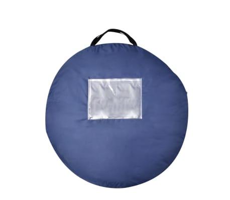 Tienda de campaña para dos personas, colores azul marino y azul claro[3/3]