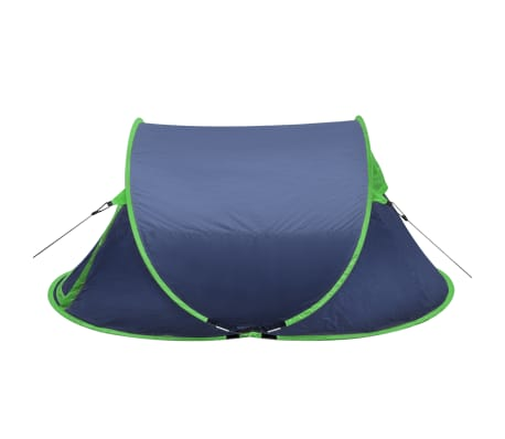 Pop-up tent 2 personen marineblauw / groen[2/3]