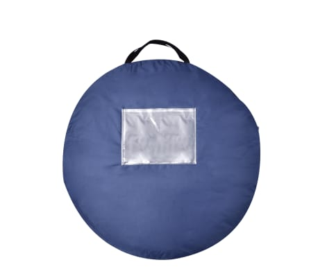 Pop-up tent 2 personen marineblauw / groen[3/3]
