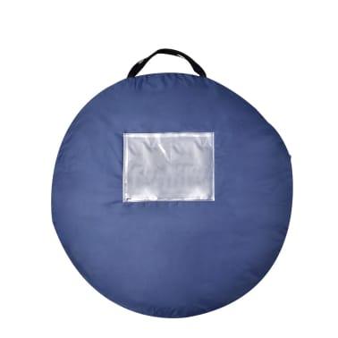 Pop-up tent 2 personen marineblauw / geel[3/3]