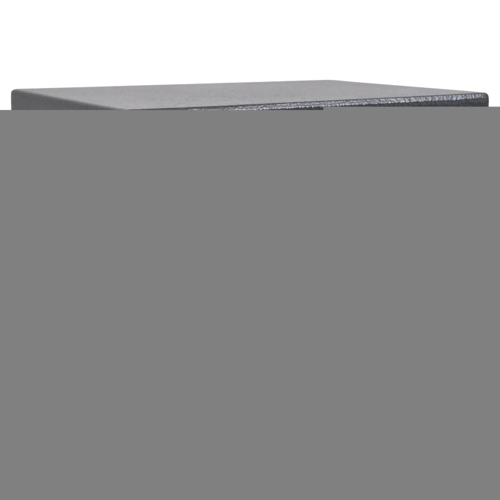 vidaXL Electronic Digital Safe 23 x 17 cm