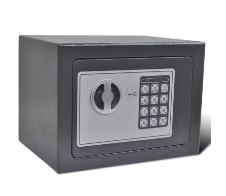 vidaXL Digital safe elektronisk 23x17x17 cm[3/9]