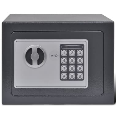 vidaXL Digital safe elektronisk 23x17x17 cm[2/9]