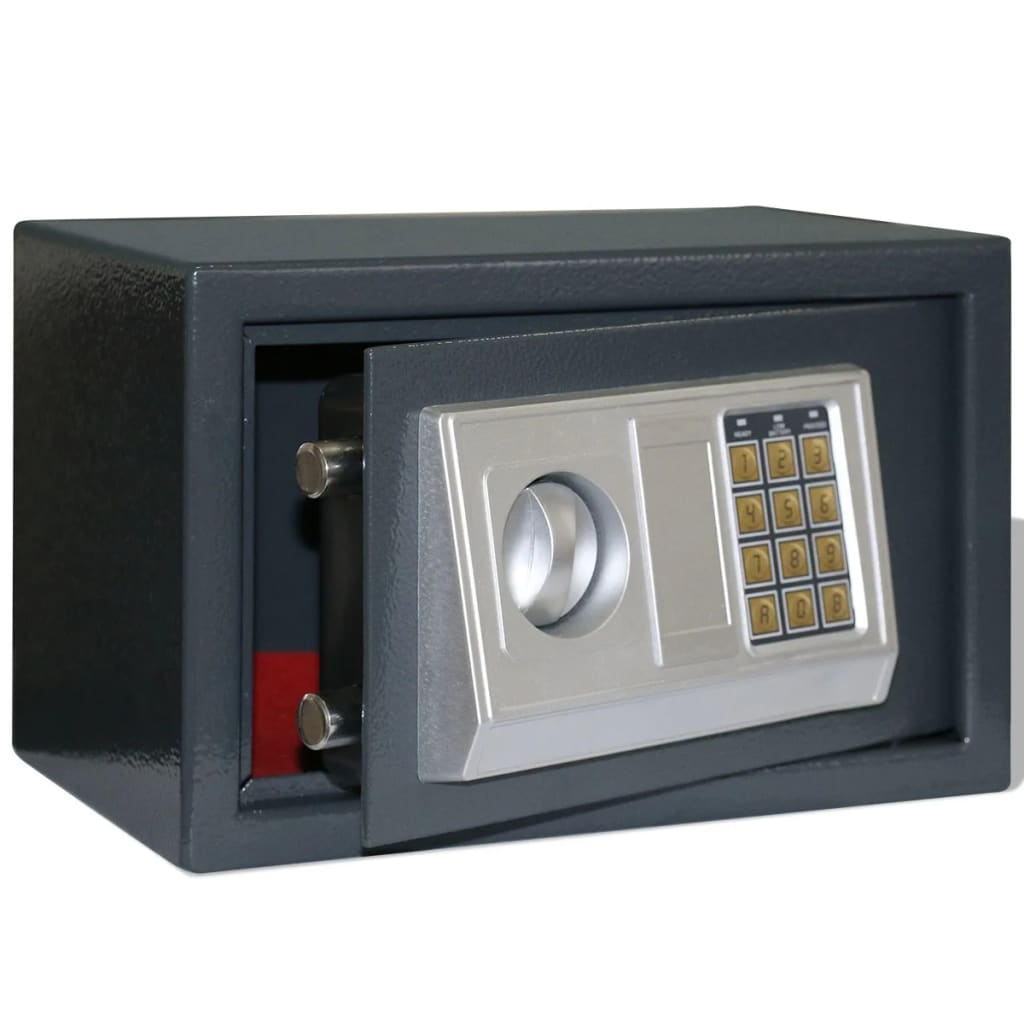 vidaXL Electronic Digital Safe 31 x 20 cm