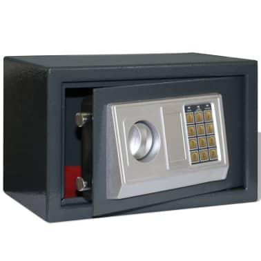 vidaXL Elektroniskt kassaskåp 31 x 20 x 20 cm[1/5]