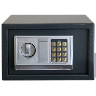 vidaXL Elektroniskt kassaskåp 31 x 20 x 20 cm[2/5]
