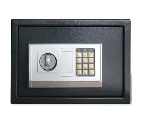 Elektronischer Safe Tresor mit Fachboden 35 x 25 x 25 cm[2/6]