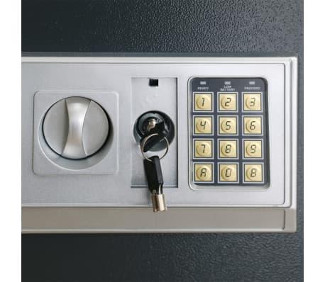 Elektronischer Safe Tresor mit Fachboden 35 x 25 x 25 cm[5/6]