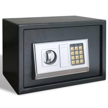 Elektronischer Safe Tresor mit Fachboden 35 x 25 x 25 cm[3/6]