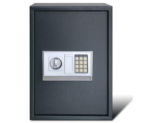 vidaXL Caja fuerte digital electrónica con estante 35x31x50 cm[3/7]
