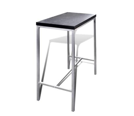 vidaXL Mesa alta y taburetes de bar o cocina[2/5]