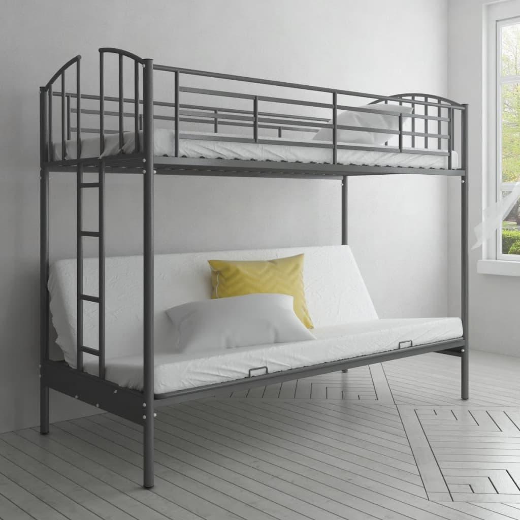 Dětská patrová postel a futon rám