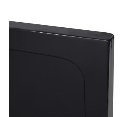 vidaXL Dušo pagrindas, juodas, ABS, stačiakamp., 70x100cm[5/8]