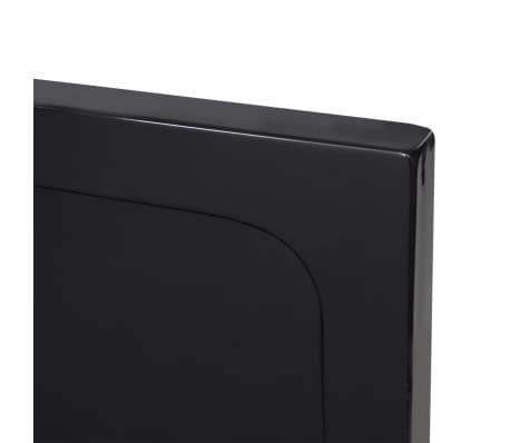vidaXL Dušo pagrindas, juodas, ABS, stačiakampis, 70x120cm[5/8]