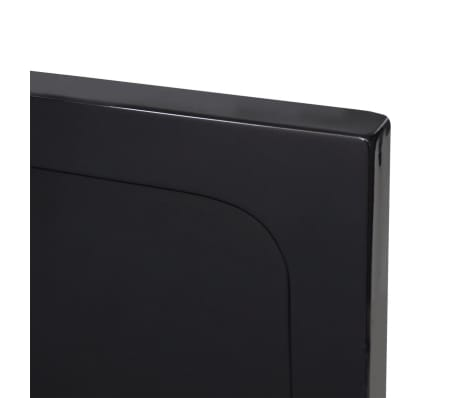 vidaXL Dušo padėklas, juodas, kvadr., ABS, 90 x 90 cm[5/8]