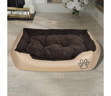 Udobna pasja postelja z mehko blazino M[2/6]