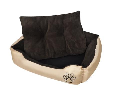 Udobna pasja postelja z mehko blazino L[1/6]