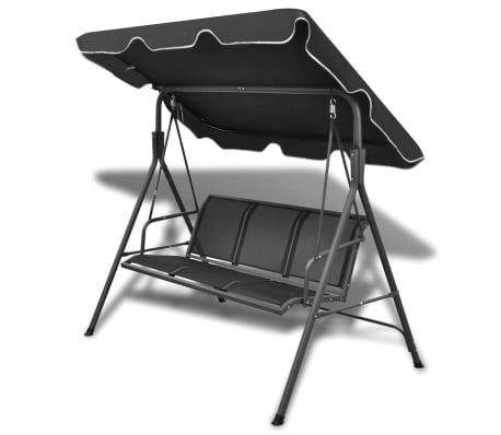 Black Garden Swing Chair[1/6]