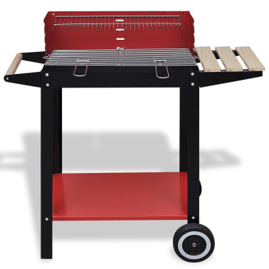 Charcoal BBQ Stand with 2 Wheels[2/4]