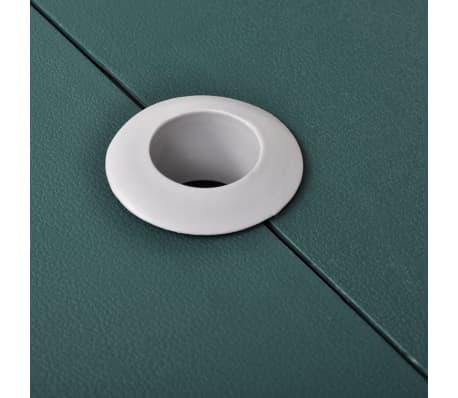 Sammenleggbart campingbord med 4 stoler grønn[3/5]