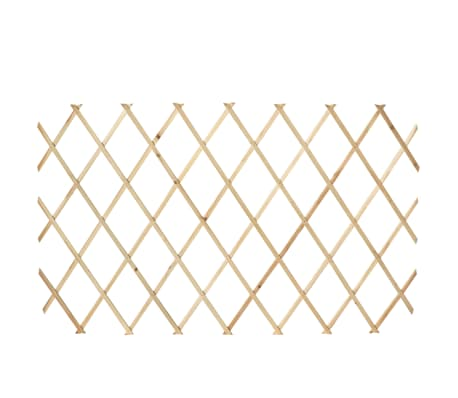 "Extendable Wood Trellis Fence 5' 11"" x 2' 11"" Set of 5[5/5]"
