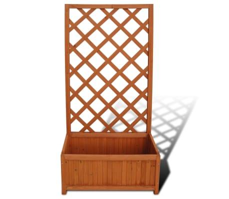 acheter jardini re avec treillis 70 x 30 x 135 cm pas cher. Black Bedroom Furniture Sets. Home Design Ideas