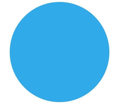 vidaXL Couverture de piscine ronde 488 cm PE Bleu[2/5]