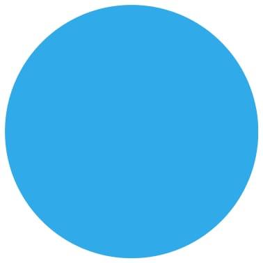 Apvalus Baseino Uždangalas, 488 cm, PE, Mėlynas[2/5]