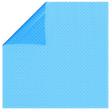 Rectangular Pool Cover 118 x 79 inch PE Blue[2/5]
