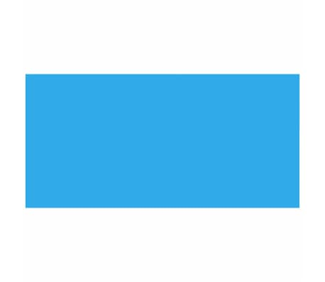 Rectangular Pool Cover 450 x 220 cm PE Blue[2/5]