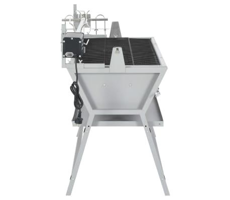 Draaispit barbecue ijzer en roestvrij staal[3/9]