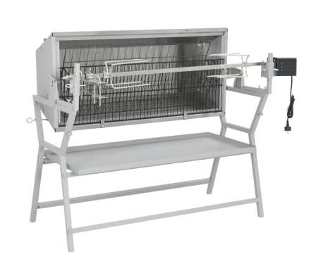 Draaispit barbecue ijzer en roestvrij staal[4/9]