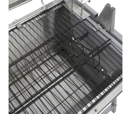Draaispit barbecue ijzer en roestvrij staal[5/9]