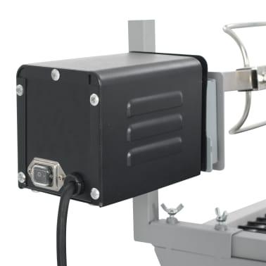 Draaispit barbecue ijzer en roestvrij staal[6/9]