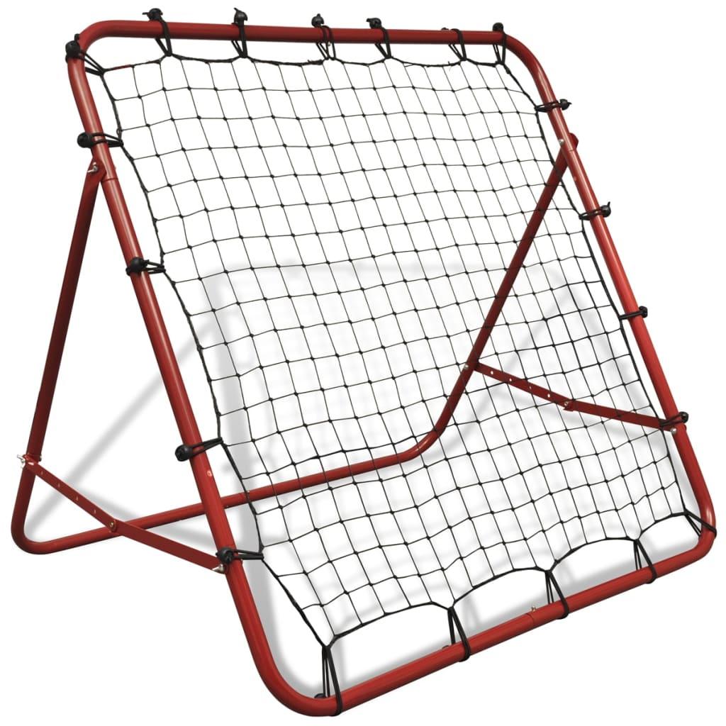 Nastavitelná fotbalová odrážecí síť 100 x 100 cm