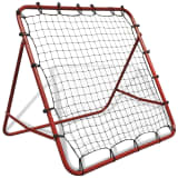 vidaXL Adjustable Football Kickback Rebounder 100 x 100 cm