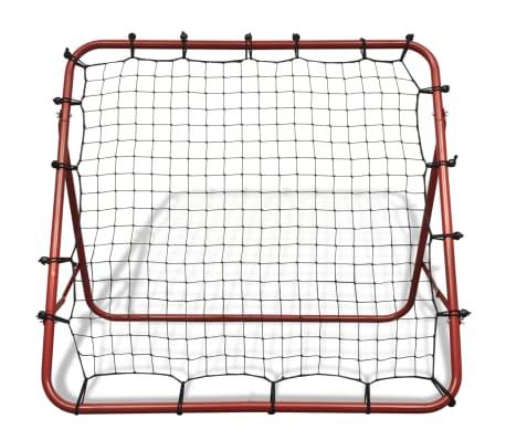 1552e644637 Reguleeritav jalgpalli tagasipõrgataja 100 x 100 cm | vidaXL.ee