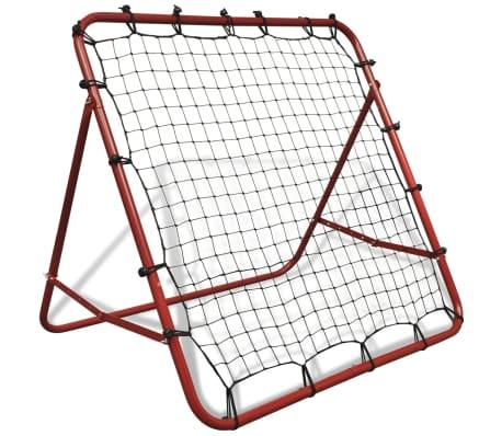 Adjustable Football Kickback Rebounder 100 X 100 Cm Vidaxl Co Uk