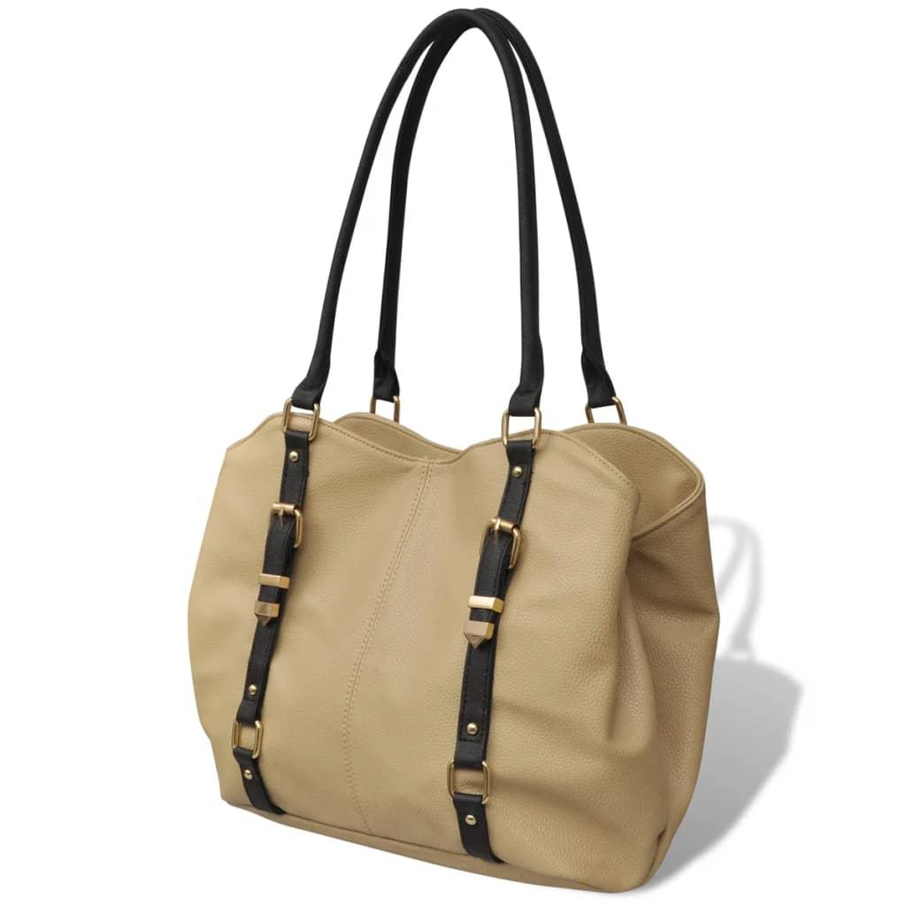 Béžová dámská kabelka