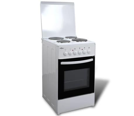 elektroherd standherd mit 4 kochplatten 50 x 60 cm zum schn ppchenpreis. Black Bedroom Furniture Sets. Home Design Ideas