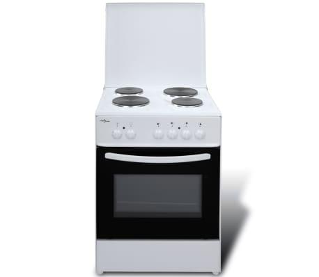 elektroherd standherd mit 4 kochplatten 60 x 60 cm g nstig kaufen. Black Bedroom Furniture Sets. Home Design Ideas