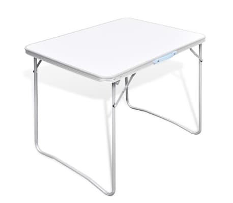 "Foldable Camping Table with Metal Frame 31.5""x23.6""[1/5]"