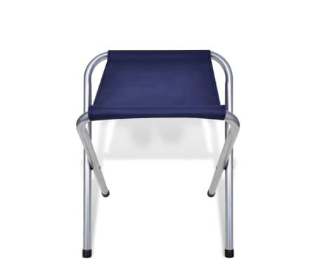 vidaXL Zestaw turystyczny: stół i 6 stołków, regulacja wysokości[9/10]