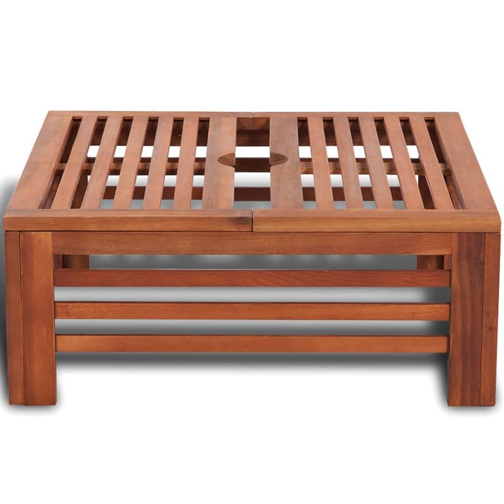 Admirable Details About Wooden Parasol Umbrella Stand Base Cover Garden Outdoor Yard Side Table Stool Us Frankydiablos Diy Chair Ideas Frankydiabloscom