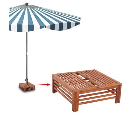 Sonnenschirm-Standfußverkleidung aus Holz[5/6]